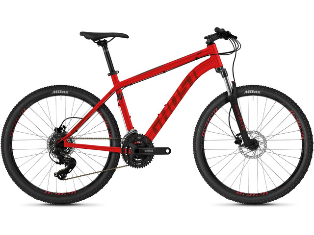 """Ghost Kato Base 26"""" Youth, red/dark red"""